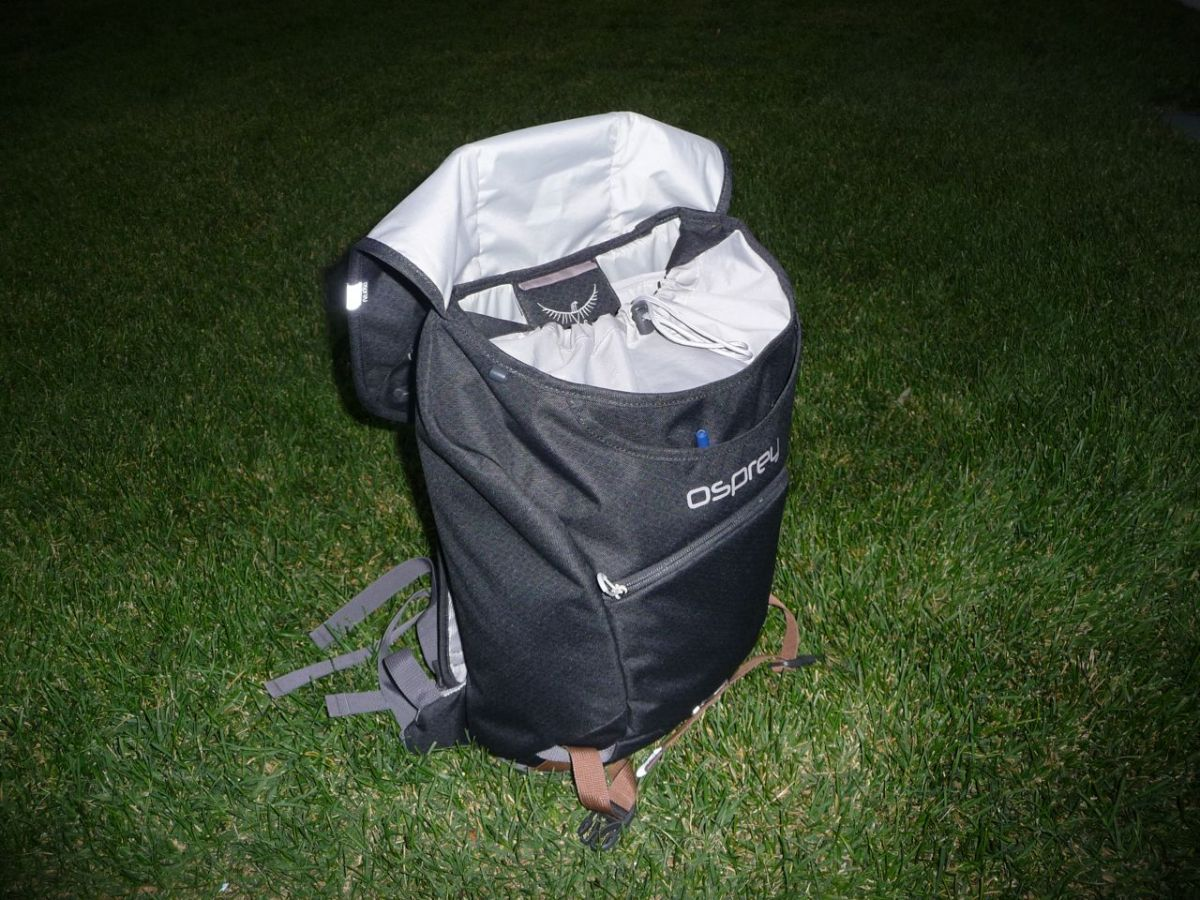 Osprey flapjack laptop backpack review for Bomber bag review