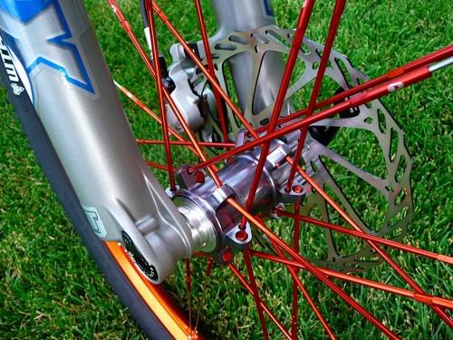 Ibis Mojo with Crank Brothers Iodine Wheels