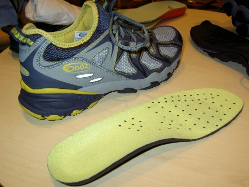 Oboz Dash Trail Runner and New Supportive Footbed