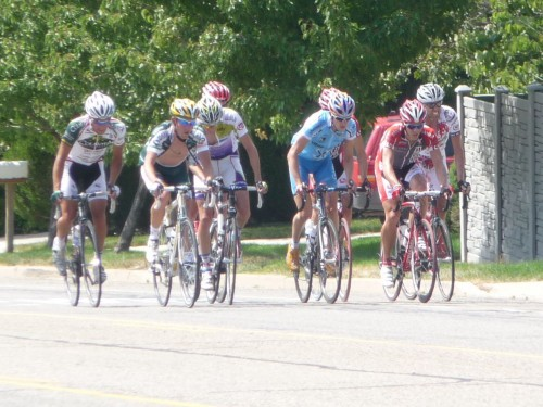 Tour of Utah: Stage 4 - Breakaway Group Ascends Wasatch Blvd