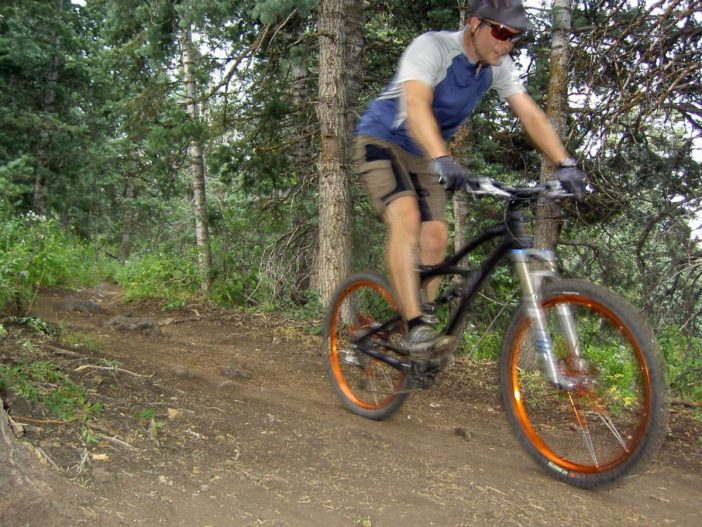 Ibis Mojo Hearts the Ridge Trail 157 in American Fork Canyon