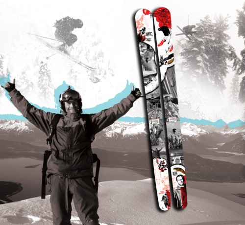 K2 to Sell Limited-edition Shane McConkey Skis - Donate Proceeds