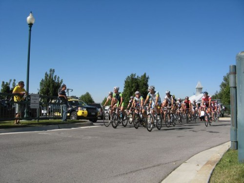 Tour of Utah Stage 2 Start