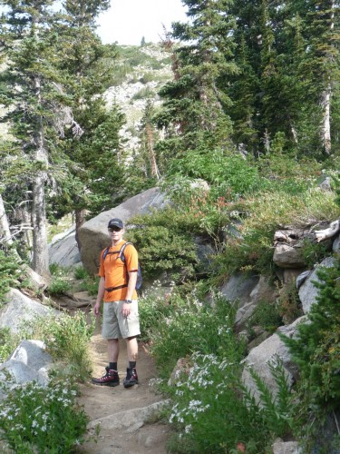 Sunset Peak Trail to Catherine's Pass - Alta Utah