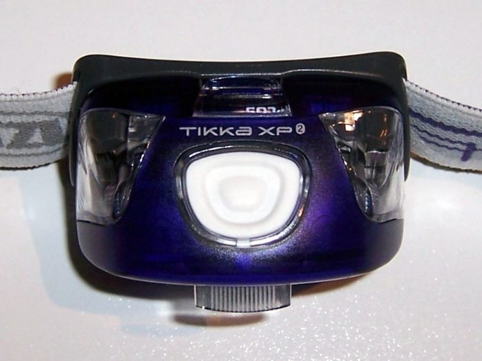 top view; single multi-function button