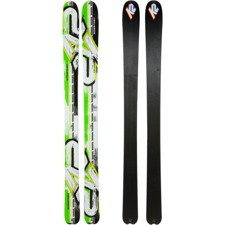 K2 SideStash Powder and Backcountry-friendly Ski