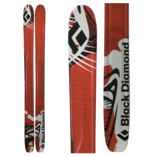 Black Diamond Justice Skis