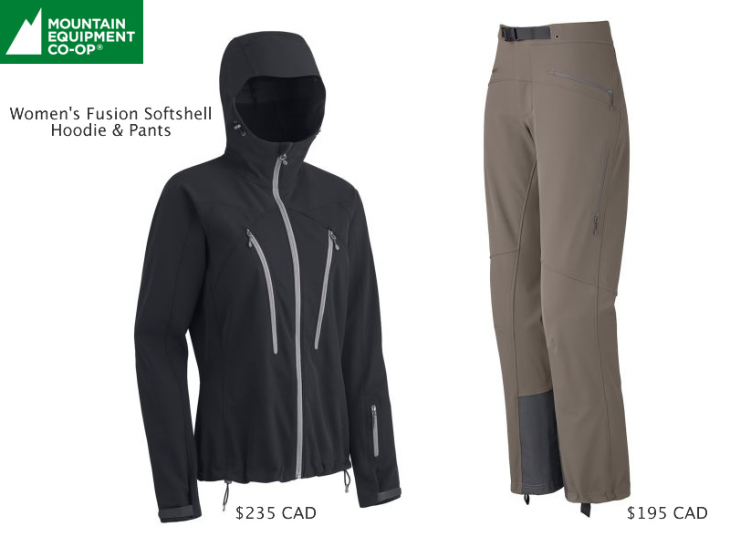 MEC Fusion Softshell Hoodie and Pants Review