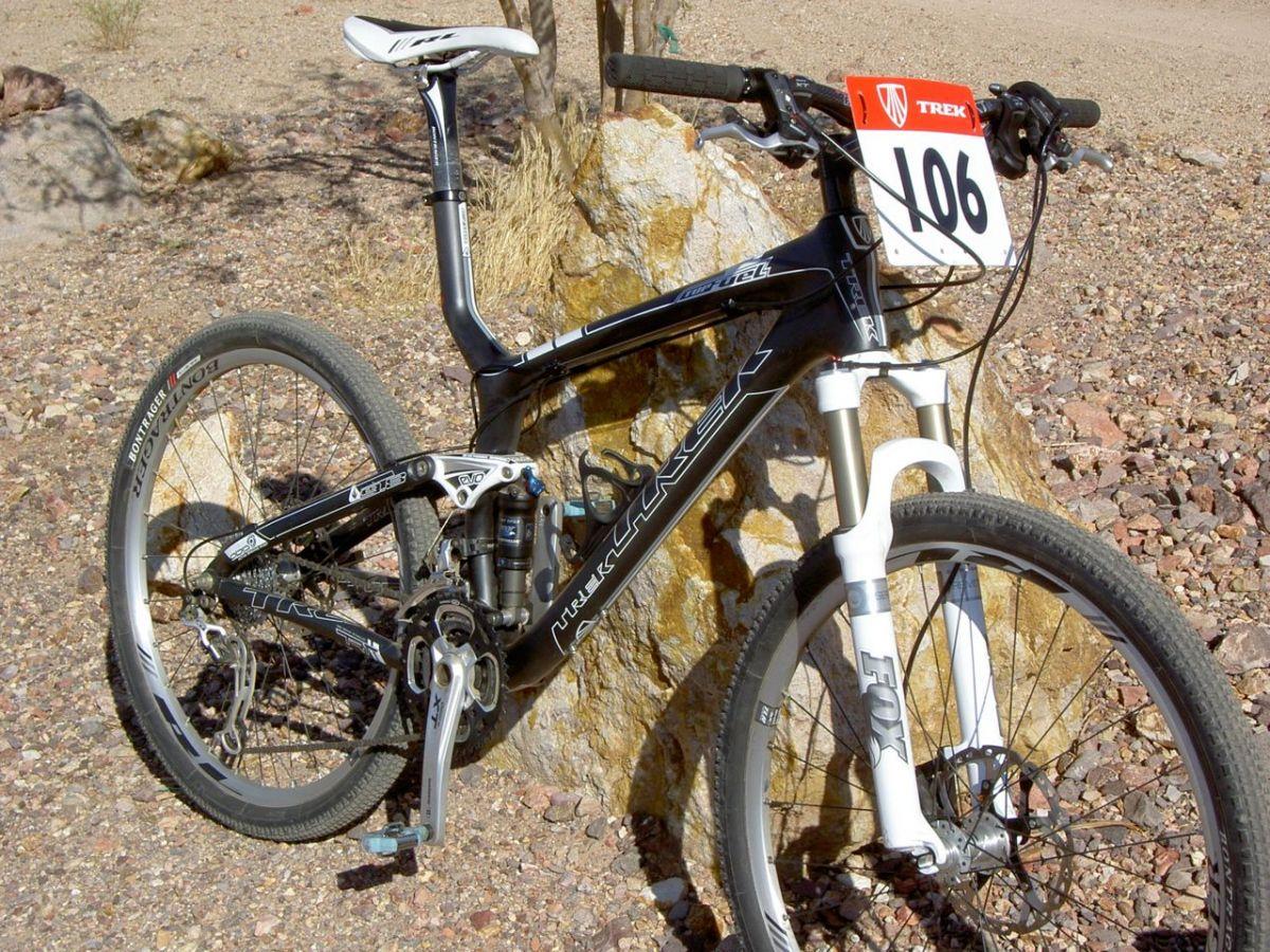 83916a531b0 Trek Top Fuel 9.8 Quick Review - Interbike 2009 - FeedTheHabit.com