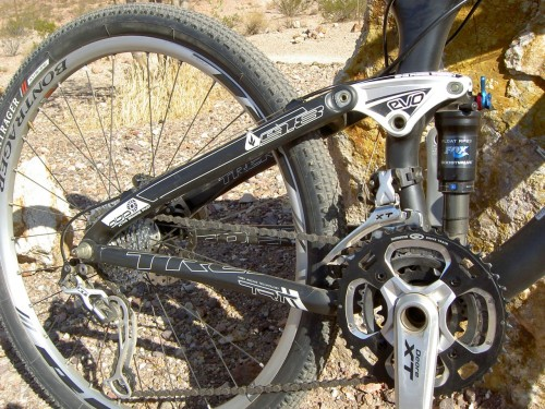 Trek Top Fuel 9.8 Rear Suspension