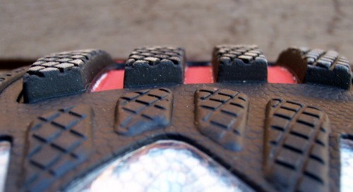 Actuator lugs on outsole