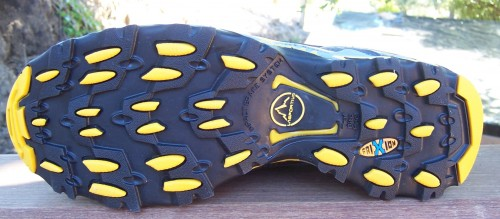 Wildcat outsole: FriXion rubber and Impact Brake System