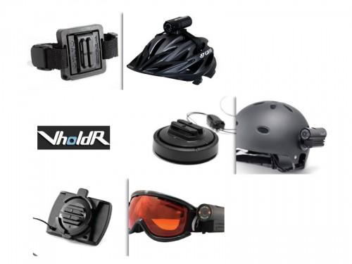 Vholdr Contour HD 1080 - Mounting Options