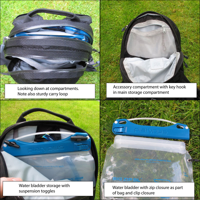 how to use teton hydration pack