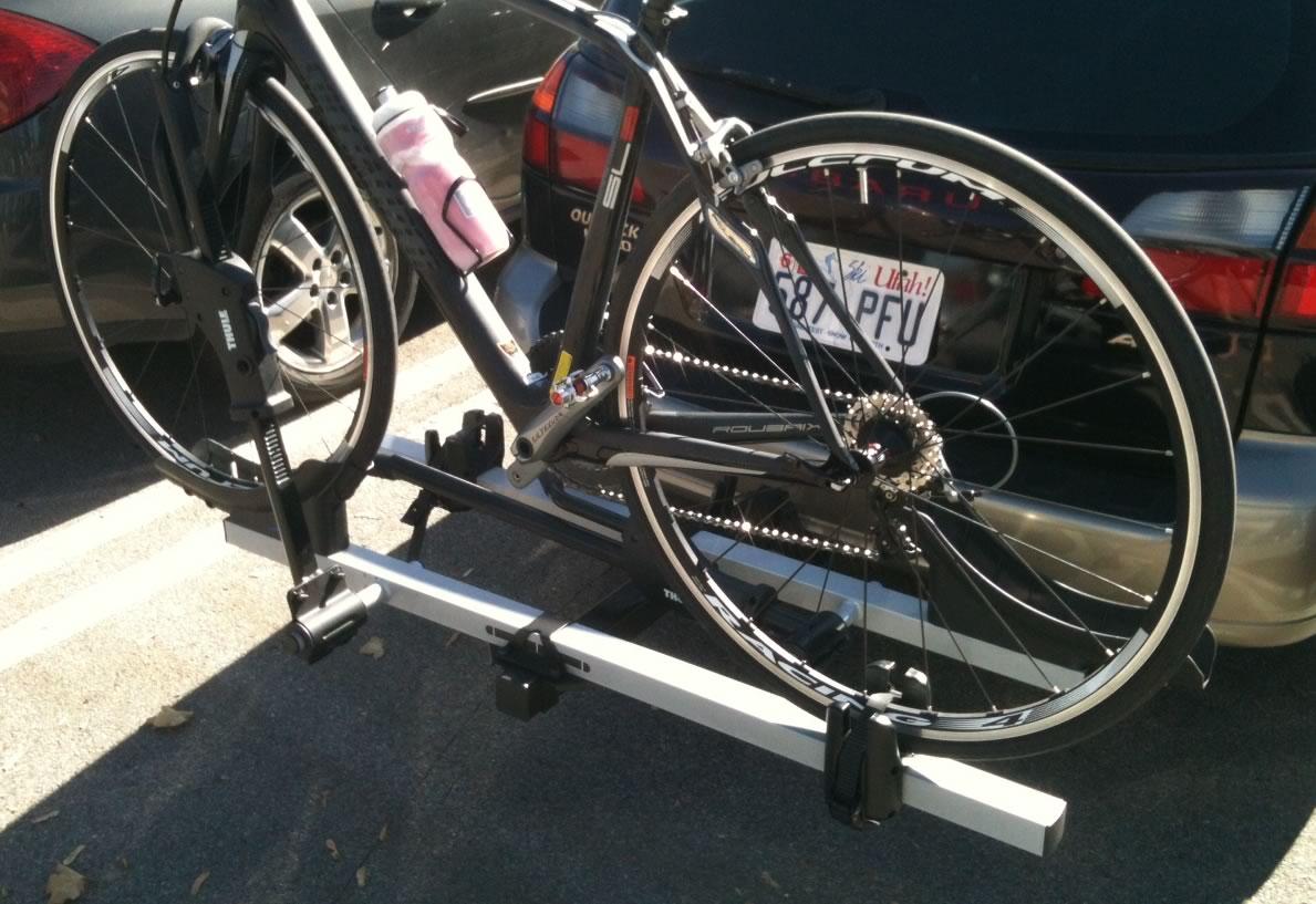 feedthehabit com thule bike biking mountain review hitch rack
