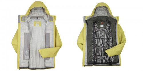 Columbia Ultrachange Parka Liner and Shell