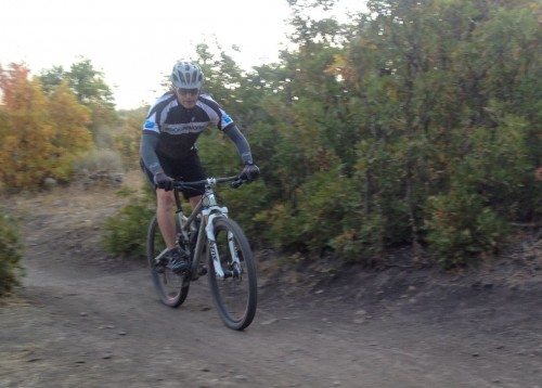 Early Morning MTB Rides - Perfect for Photochromic Lenses
