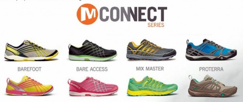 Merrel M Connect lineup