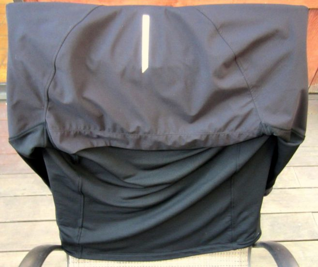 Icebreaker blast jacket back panels