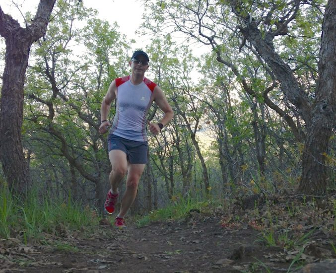 Vasque Pendulum Trail Running Shoes Review - Jason Running in Lambert Park, Alpine UT