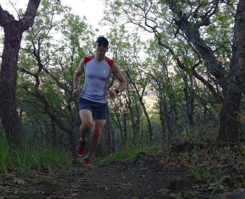 Vasque Pendulum Trail Running Shoes Review - Jason Running in Lambert Park, Alpine UT