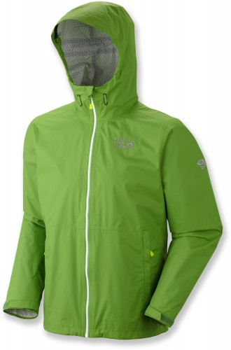 Mountain Hardwear Plasmic Jacket Review - Backcountry Green