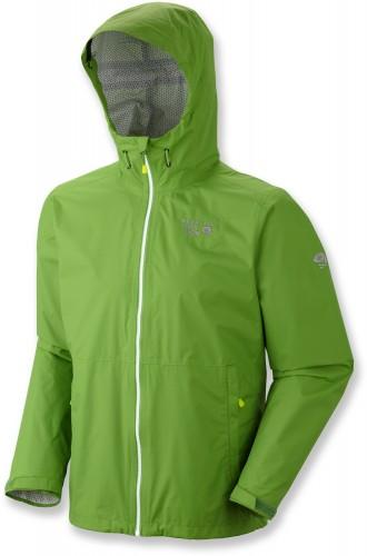 Mountain Hardwear Plasmic Jacket Review - Backcountry Green