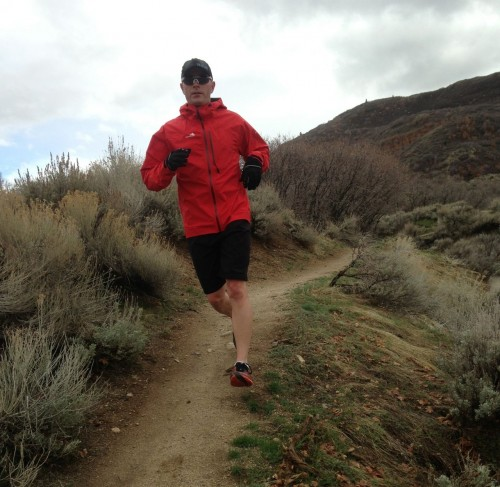 Trail Running in the Westcomb Focus LT Jacket