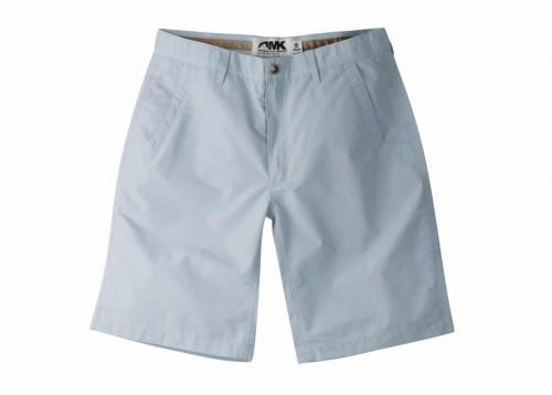 Mountain Khakis Poplin Shorts in Morning Sky (tested).