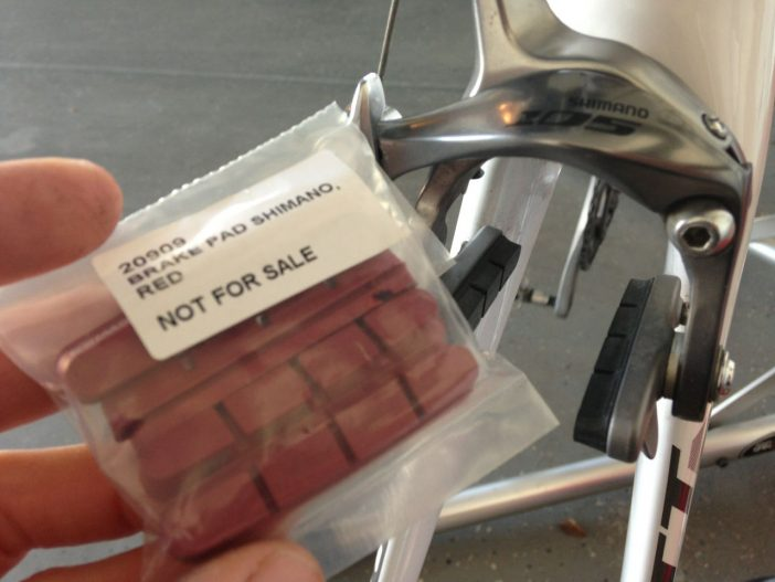 Syncros RL1.0's Include DT Carbon Brake Pads