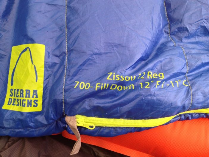 Sierra Designs Zissou Sleeping Bag Review
