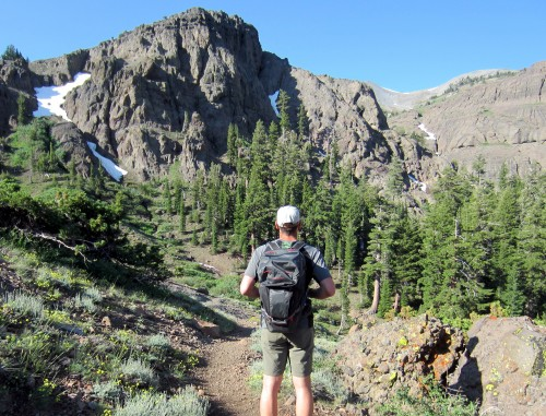 2 days on the Pacific Crest Trail in July