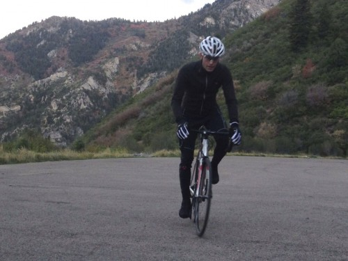 Bontrager RXL Thermal Jersey Review - Road Biking in American Fork Canyon
