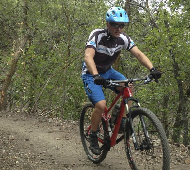 Testing the POC Trabec Race MIPS Helmet