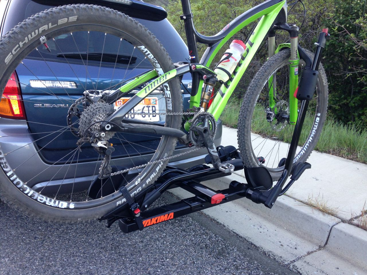 "Yakima Holdup 2 >> Yakima HoldUp 2"" Hitch Bike Rack Review - FeedTheHabit.com"