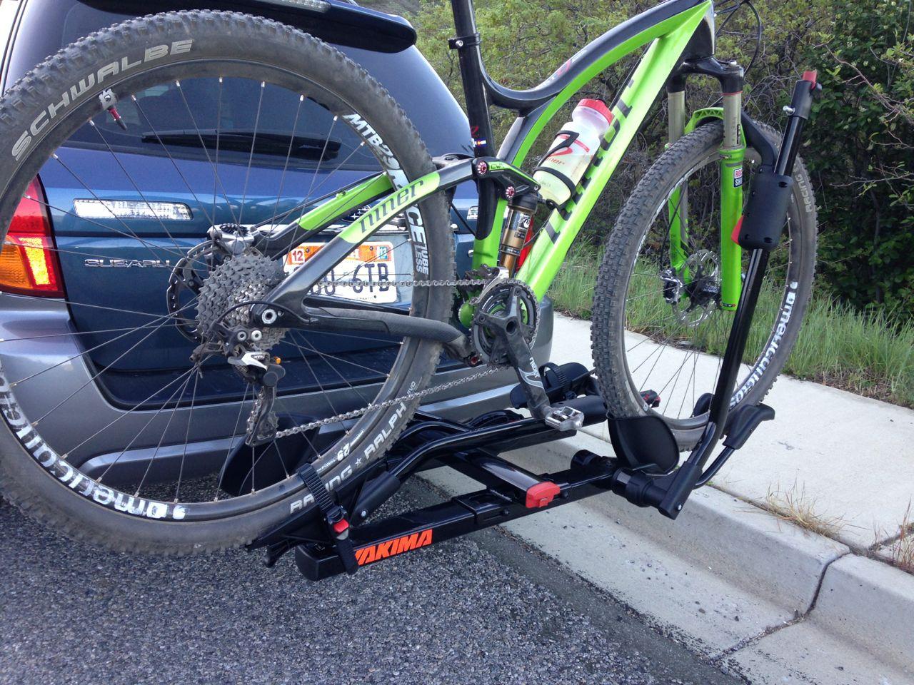 Yakima Holdup 2 Quot Hitch Bike Rack Review Feedthehabit Com