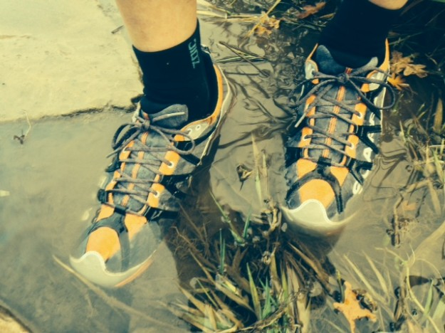Scarpa Spark GTX Submersion Testing