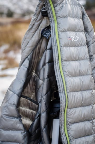 Rab Continuum Down Sweater Review