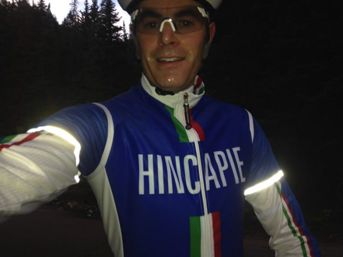 Hincapie Ghisallo LS Jersey and Vest Review - Reflective at Night