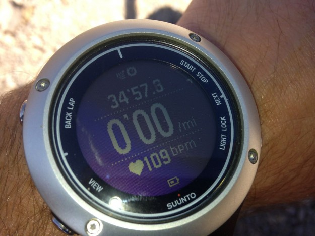 Suunto Ambit2 S - Heart Rate Mode