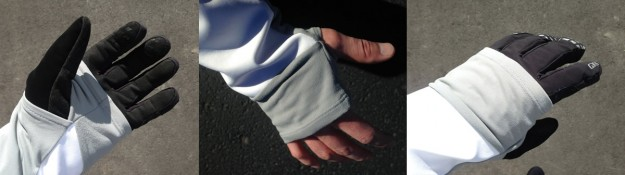 Bontrager RXL 180 Softshell Jacket Review - Thumb Ports