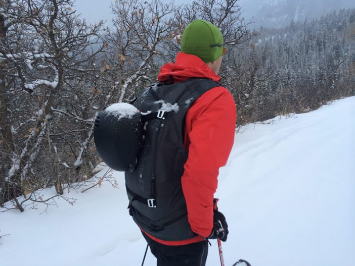 Dakine BC Vest Review - On the uphill