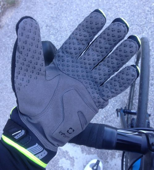 Bontrager Race Windshell Gloves Review - InForm Palm