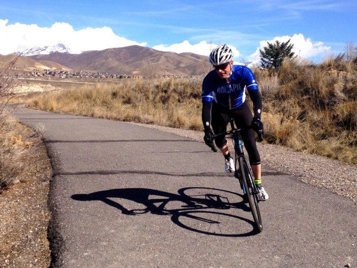 Devinci Leo SL - Riding the Jordan River Parkway Trail in Lehi, UT