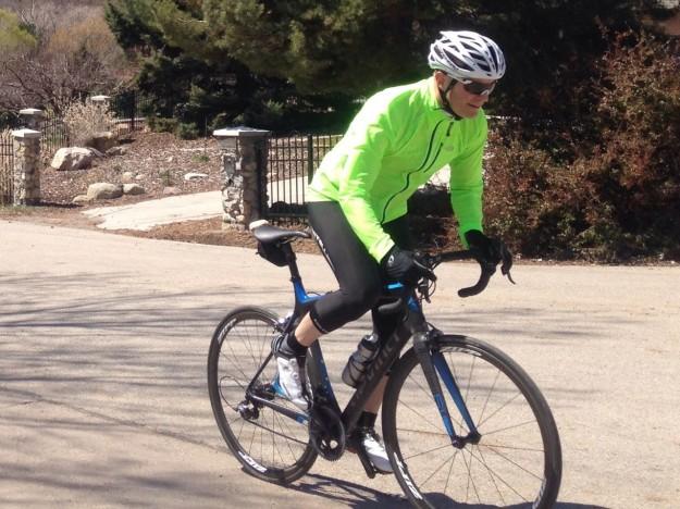 Testing the Garneau Diamond II Road Bike Helmet