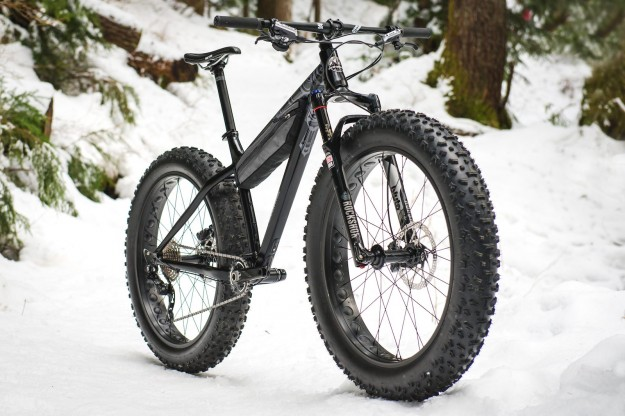 2015 Rocky Mountain Blizzard Fatbike Angle View