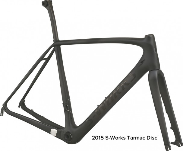 2015 Specialized S-Works Tarmac Disc Frameset
