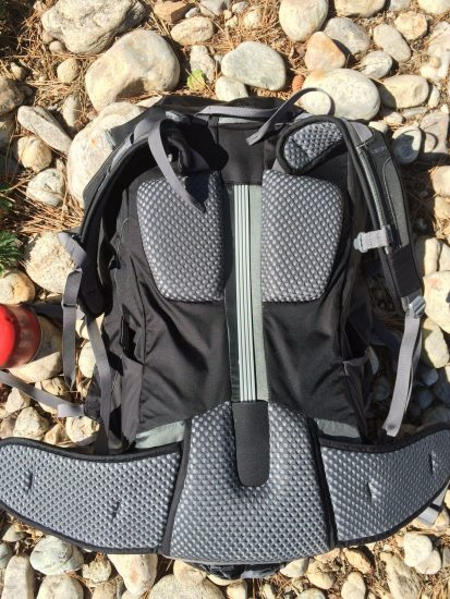 Kelty TrailLogic PK50 Backpack Review - Suspension Design