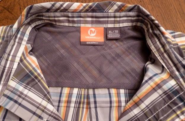 merrell rambler shirt mesh back