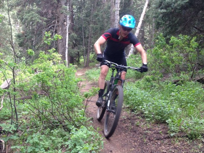 Ibis Ripley Review - Jason Mitchell enjoying South Fork Deer Creek Trail